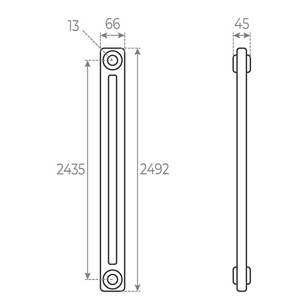 schema radiateur acier tubulaire 2492 2