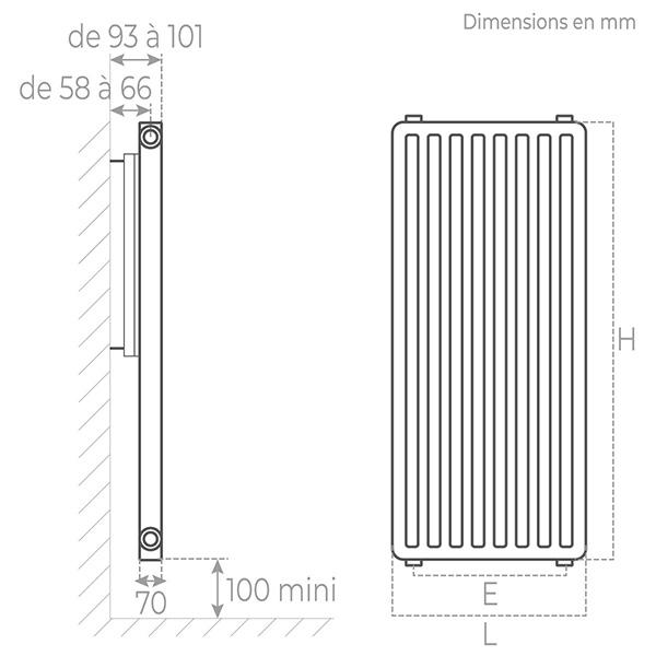 schema radiateur acier vertical 21