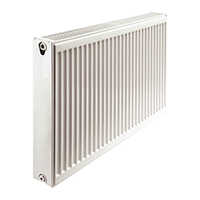 radiateur acier avec robinetterie