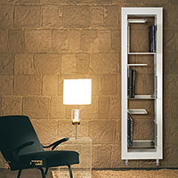 radiateur meuble chauffant boxes blanc
