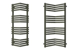 radiateur design horizontal vertical avec miroir d 39 angle. Black Bedroom Furniture Sets. Home Design Ideas