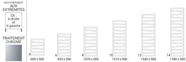 schema radiateur chrome zigzagsx