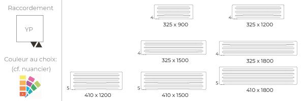 schema du radiateur design horinzontal