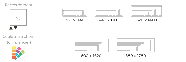 schema du radiateur design horizontal