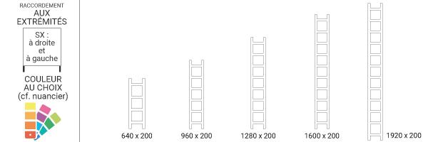 schema radiateur petite largeur easysx