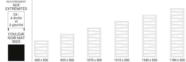 schema radiateur vertical zigzagsxn