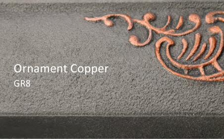 Coloris Ornament Copper