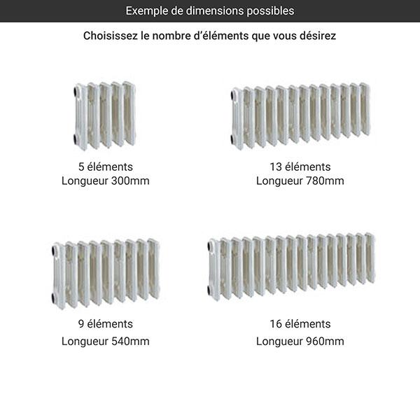 gamme radiateur fonte colonnes 295