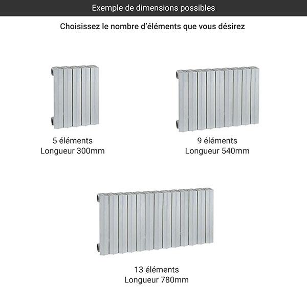 gamme radiateur fonte rideau 560