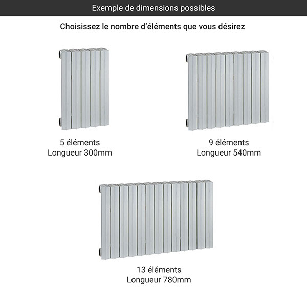 gamme radiateur fonte rideau 690