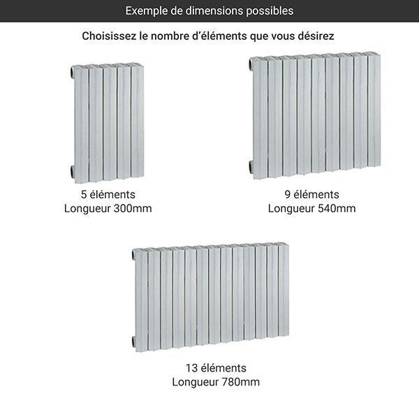 gamme radiateur fonte rideau 880