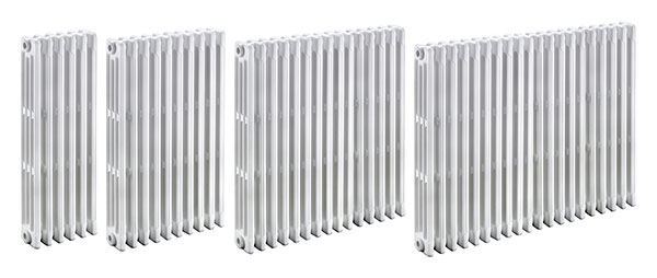 gamme radiateur fonte tubulaire
