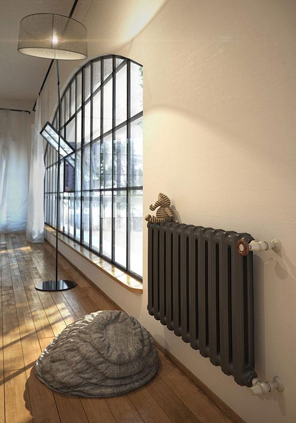 radiateur fonte bart noir