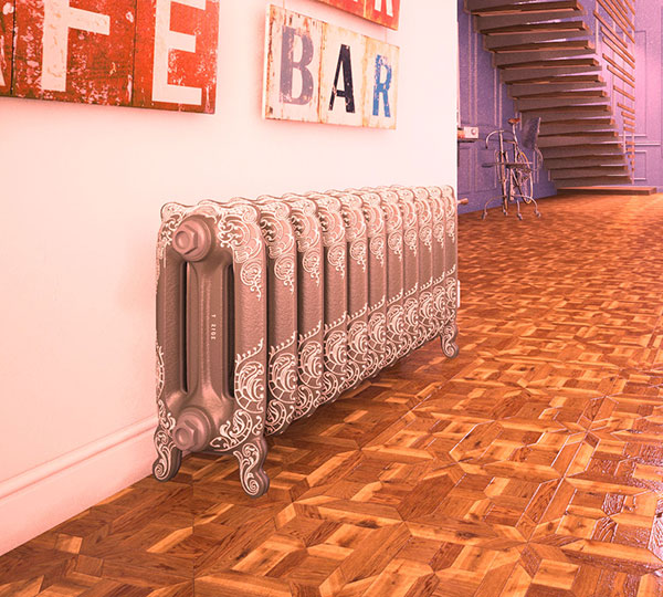 radiateur fonte couleur autumn oxford