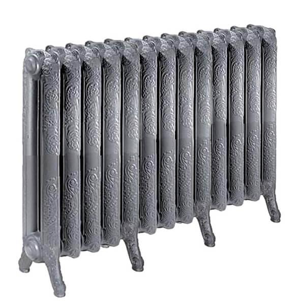 radiateur fonte fleuri hauteur 510mm. Black Bedroom Furniture Sets. Home Design Ideas