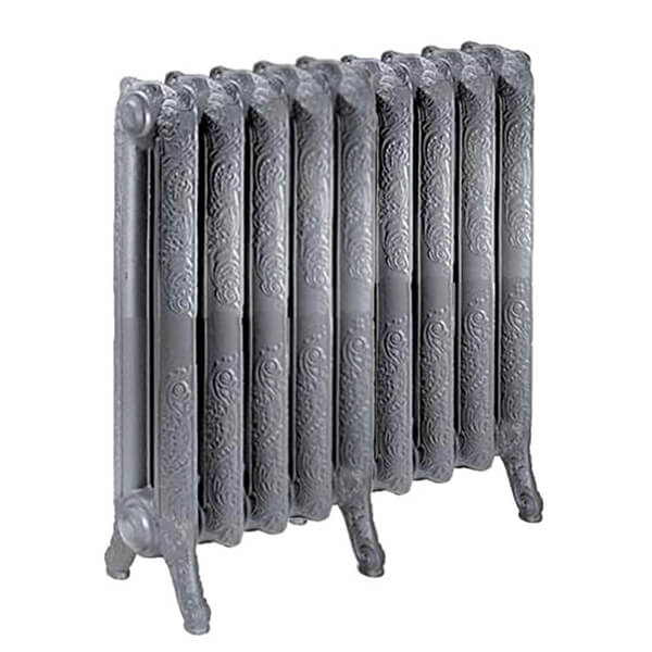 radiateur fonte fleuri hauteur 510mm. Black Bedroom Furniture Sets. Home Design Ideas