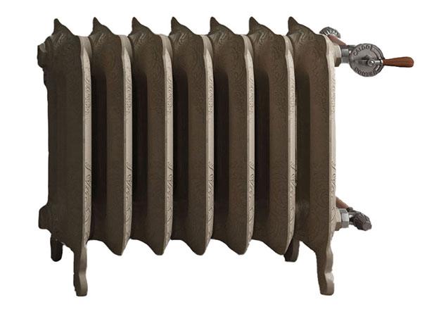 radiateur fonte graff oxford pieds