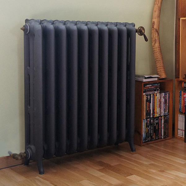 radiateur fonte lisse haut 760mm. Black Bedroom Furniture Sets. Home Design Ideas