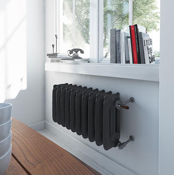 radiateur fonte oxford flat black