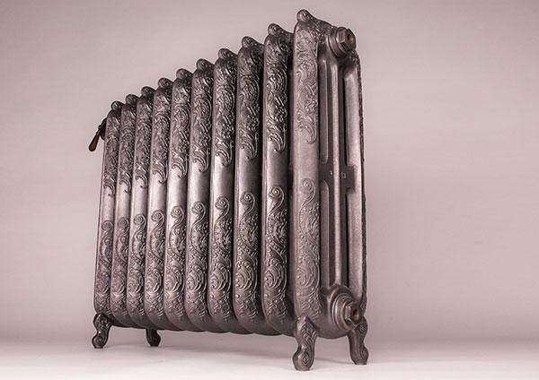 radiateur fonte oxford ornement copper