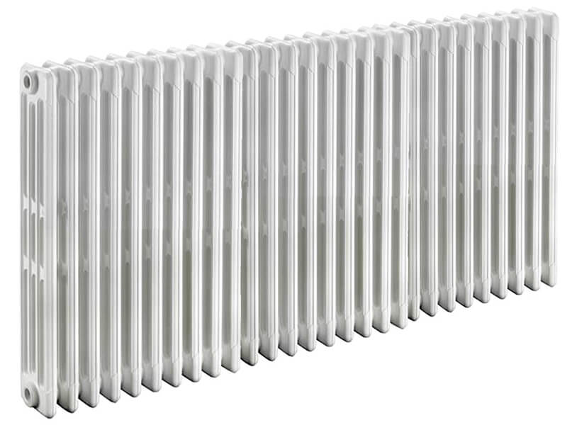 radiateur fonte tubulaire 4 colonnes epaisseur 222mm. Black Bedroom Furniture Sets. Home Design Ideas