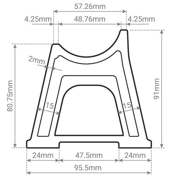 schema pied radiateur fonte2