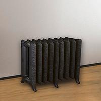 radiateur fonte fleuri ultra esth tique. Black Bedroom Furniture Sets. Home Design Ideas