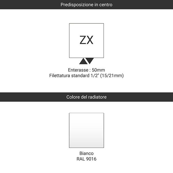 predisposizione zx bianco