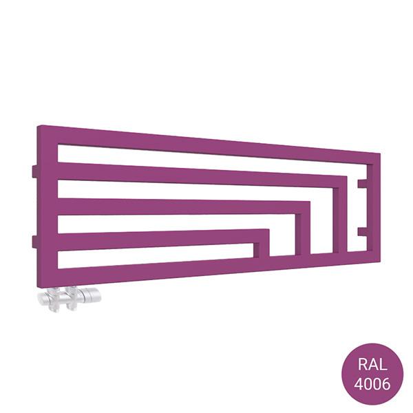 radiatore orizzontale angus yl ral4006