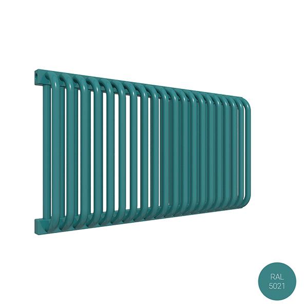 radiatore orizzontale delfinyl ral5021