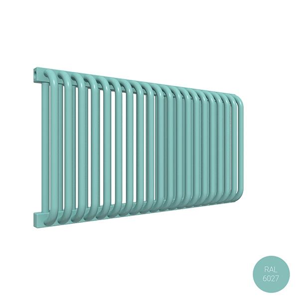 radiatore orizzontale delfinyl ral6027