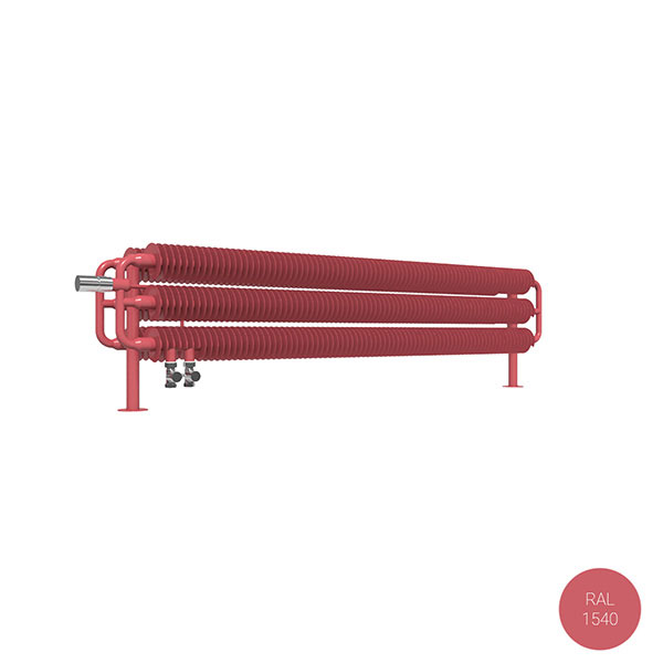 radiatore orizzontale ral1540 ribbonhsdvl