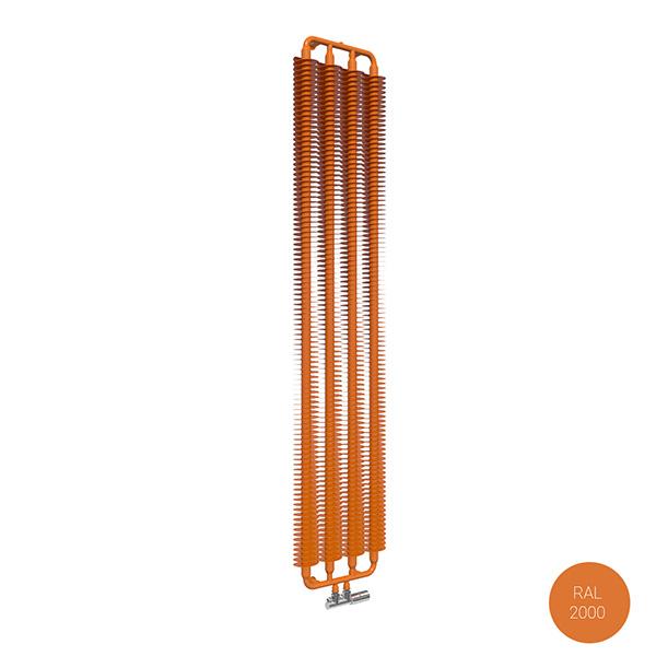 radiatore verticale ral2000 ribbonvzx