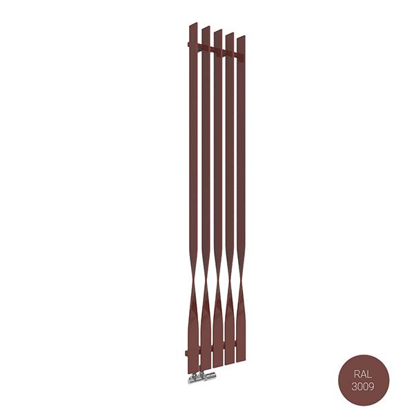 radiatore verticale ral3009 cyklonyl
