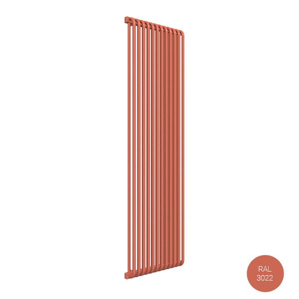 radiatore verticale ral3022 delfinzx
