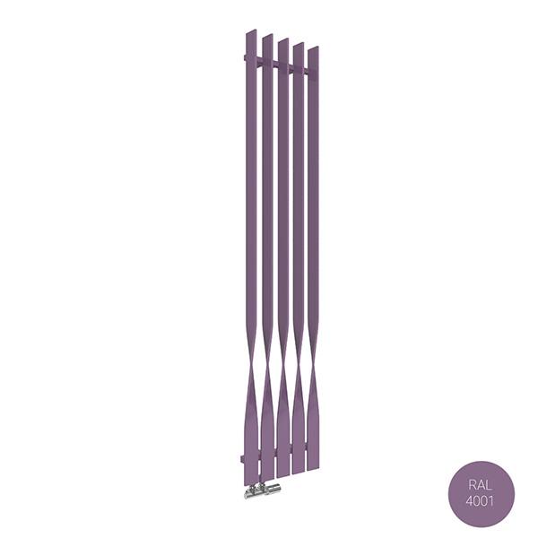 radiatore verticale ral4001 cyklonyl