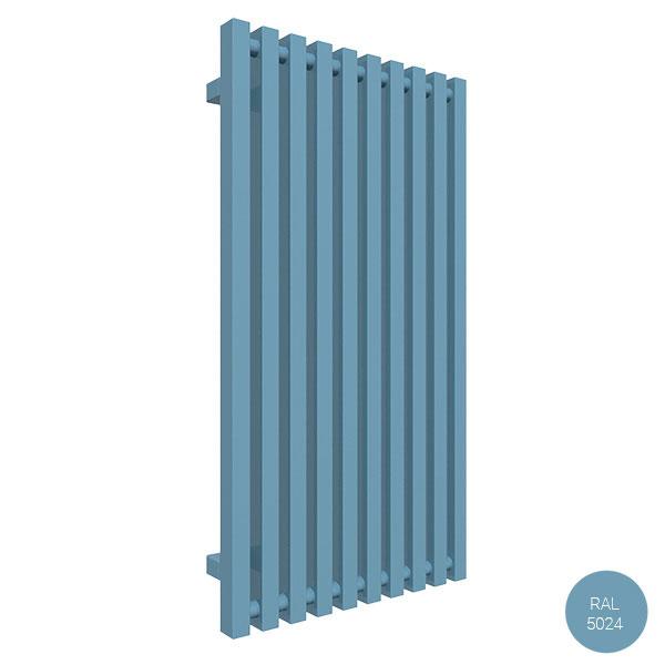 radiatore verticale ral5024 trigazx