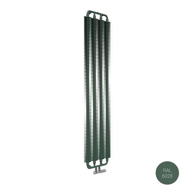 radiatore verticale ral6028 ribbonvzx