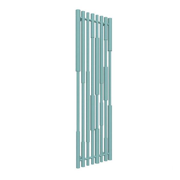 radiatore verticale ral6034 canezx
