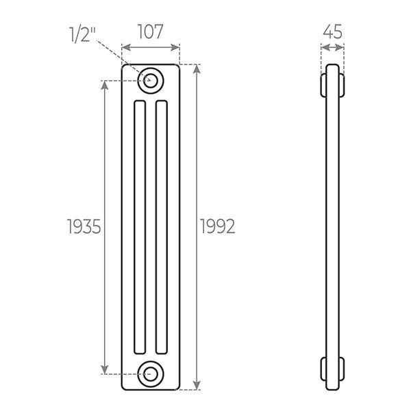 schema radiateur acier tubulaire 2192 3