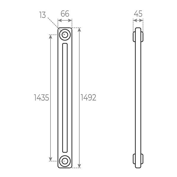 schema radiatore tubolare 1492 2
