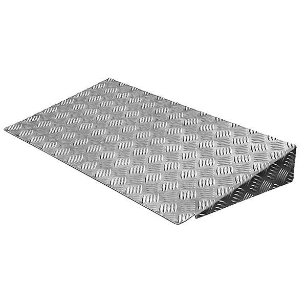 rampa accesso pmr in alluminio