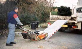 rampa carico larga alluminio