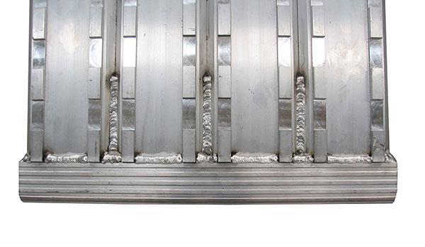 rampa carico m105f macchinari cingolate in ferro