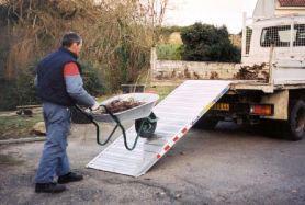 rampa da carico larga