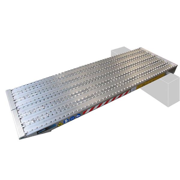 rampa da carico macchinari cingolate ferro