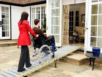 rampa per disabili