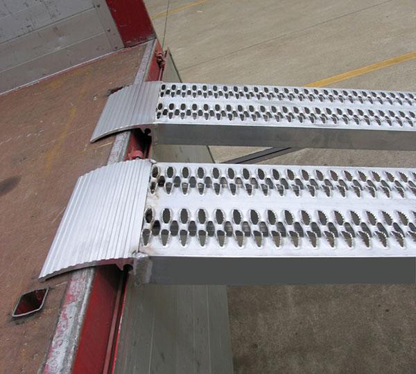 Rampa da carico fino a 4500kg larghezza 315mm for Rampe da carico usate