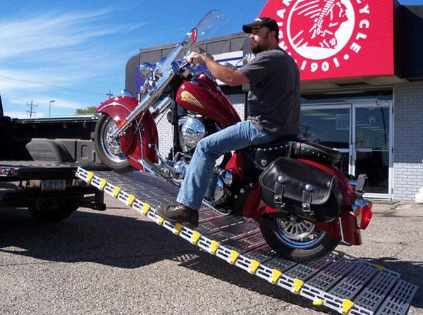 rampe moto