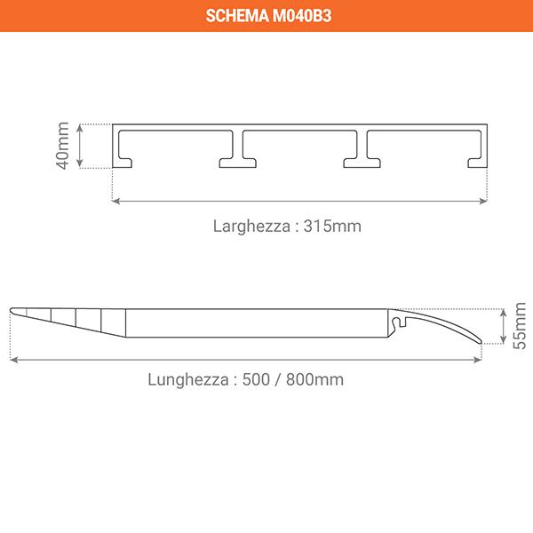 schema rampa M040B3